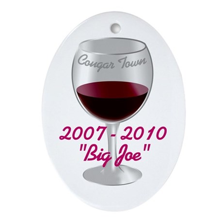 Cougar Town Ornament (Oval)