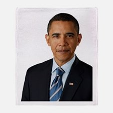Cute Barack obama Throw Blanket