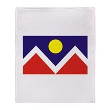 Denver, Colorado Throw Blanket