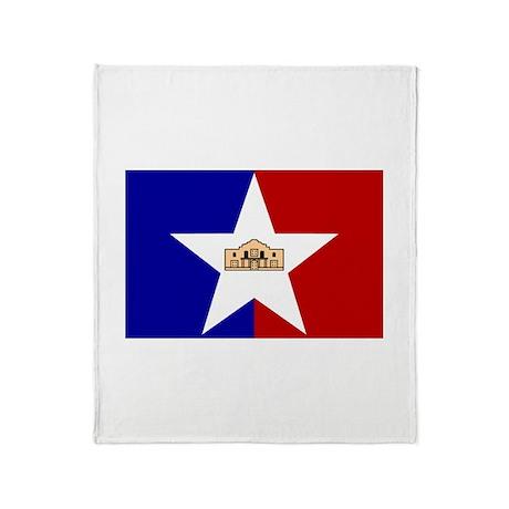 San Antonio Texas Throw Blanket