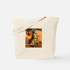 Native american pipe Tote Bag