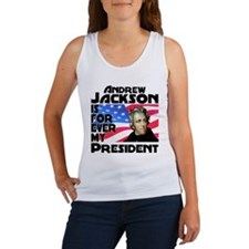 Andrew Jackson 4ever Women's Tank Top