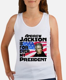 Andrew Jackson 4ever Women's Tank Top