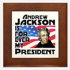 Andrew Jackson 4ever Framed Tile