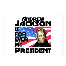 Andrew Jackson 4ever Postcards (Package of 8)