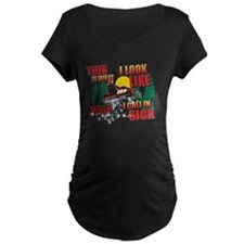 Snowmobiling/When I call in S T-Shirt