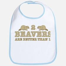 2 Beavers Bib