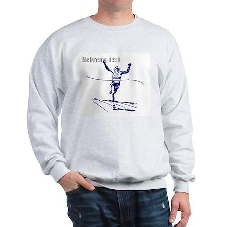 Hebrews 12:1 Sweatshirt-P
