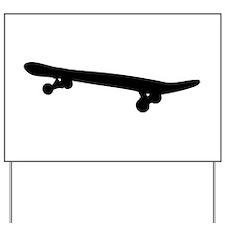 Skateboard Yard Sign