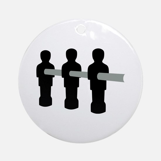 Foosball Ornament (Round)