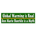 Ann Marie Buerkle and Global Warming bumpersticker