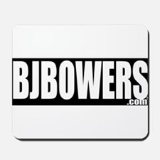BJBOWERS BLK Mousepad