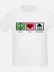 Peace Love Real Estate T-Shirt