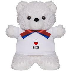 I Heart Rob Teddy Bear