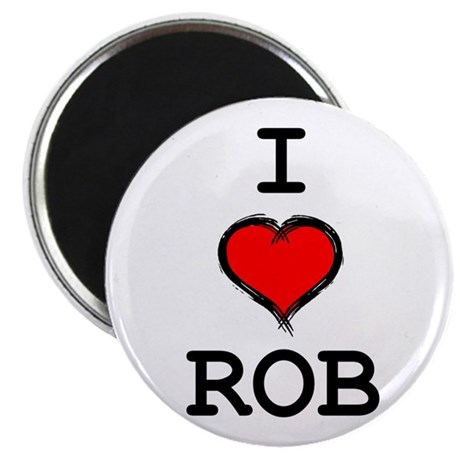 I Heart Rob Magnet