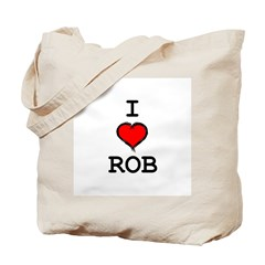 I Heart Rob Tote Bag