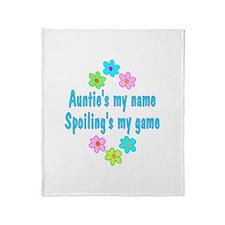 Auntie Throw Blanket