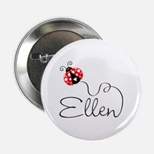 "Ladybug Ellen 2.25"" Button"