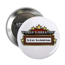 """Greatest X-Ray Technician 2.25"""" Button (10 pack)"""