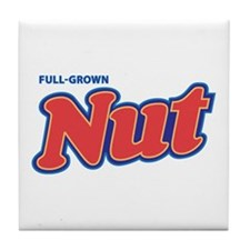 CRAZYFISH full-grown nut Tile Coaster