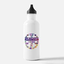 Imagine Peace Anti-war Art Water Bottle