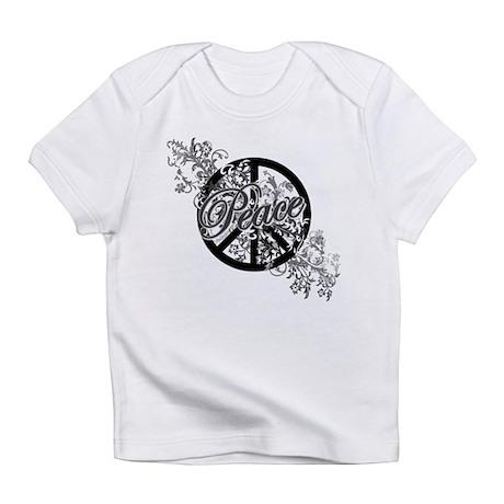 Peace Sign Filigree Art Infant T-Shirt