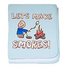 Lets Make SMORES! baby blanket