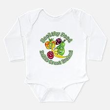 Healthy Food Builds Great Bra Long Sleeve Infant B