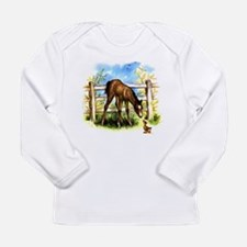 FOAL PLAY Long Sleeve Infant T-Shirt