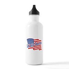 GOD BLESS AMERICA July 4th Water Bottle