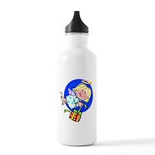 Little Christmas Angel Water Bottle