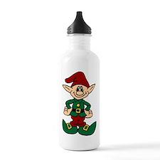 Santa's Helper Water Bottle