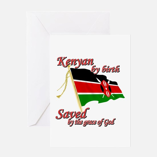 Kenyan by birth Greeting Card