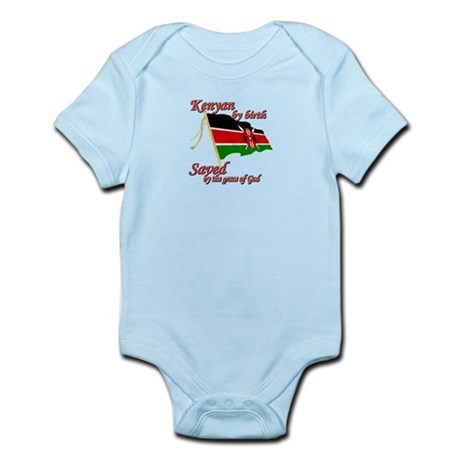 Kenyan by birth Infant Bodysuit