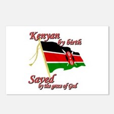 Kenyan by birth Postcards (Package of 8)