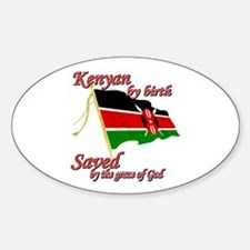 Kenyan by birth Decal