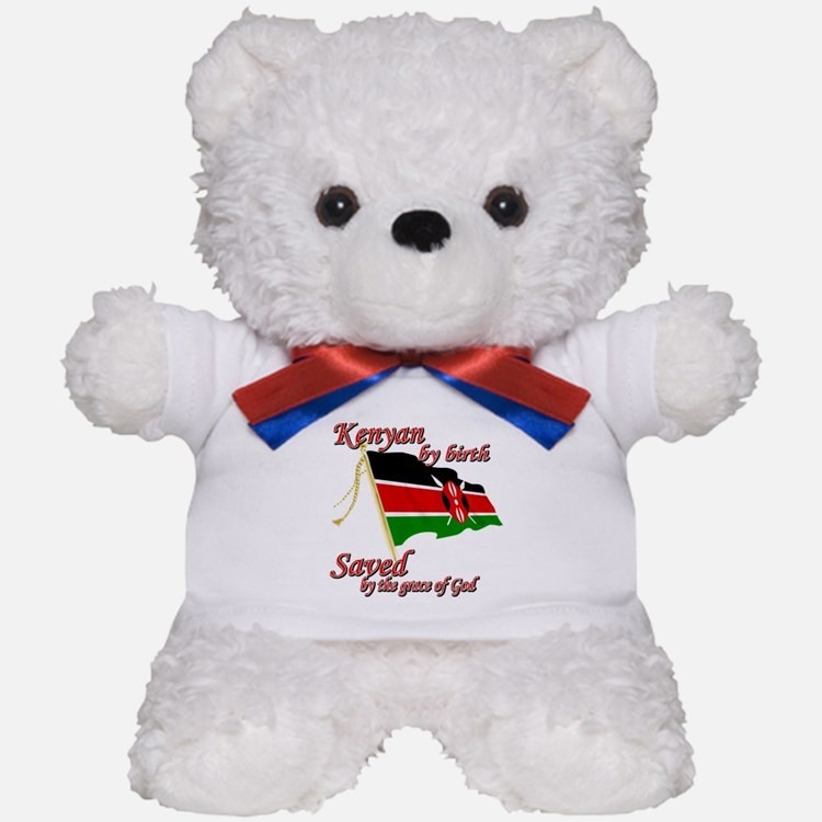Kenyan by birth Teddy Bear