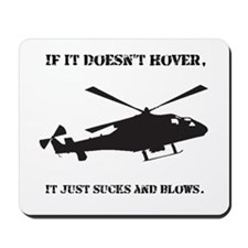 Helicopter Hover Mousepad