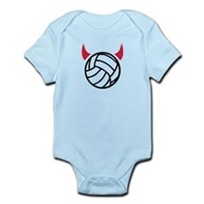 Volleyball devil Infant Bodysuit