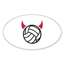 Volleyball devil Decal