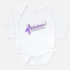 Alzheimer's Awareness Long Sleeve Infant Bodysuit