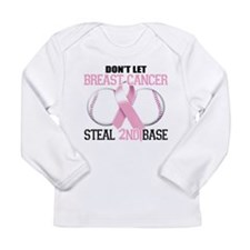 Don't Let Breast Cancer Steal Long Sleeve Infant T