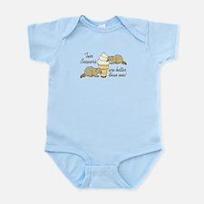 2 Beavers Infant Bodysuit