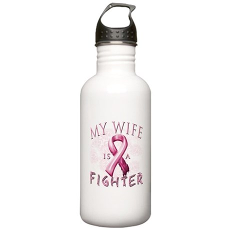 My Wife Is A Fighter Stainless Water Bottle 1.0L