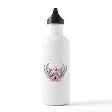Awareness Tribal Pink Water Bottle