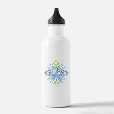 Blue Survivor Water Bottle