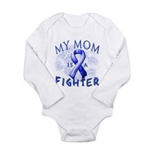 My Mom Is A Fighter Long Sleeve Infant Bodysuit