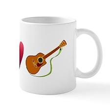 Peace,Luv, Guitar Mug