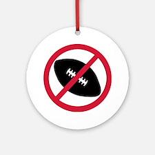No football Ornament (Round)