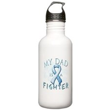My Dad Is A Fighter Sports Water Bottle